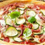 Хрупкава пица от карфиол