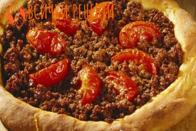 Италианска пица с кайма