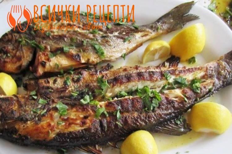 Печена риба