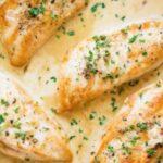Пилешко месо със сметана