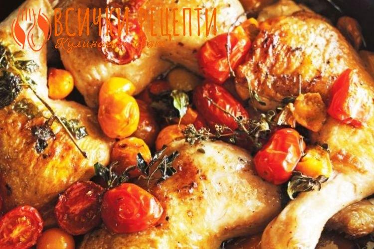 Рецепта с пилешко