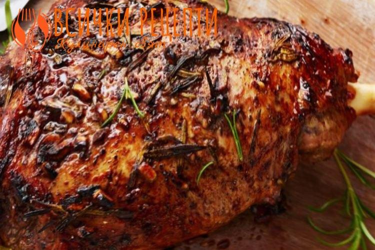 Рецепта за агнешко печено
