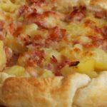 Рецепта за пица с шунка и кашкавал