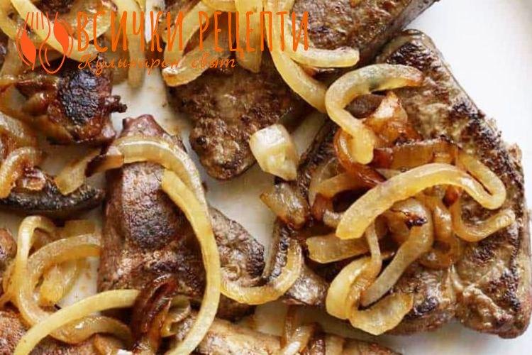 Рецепта за свински дроб