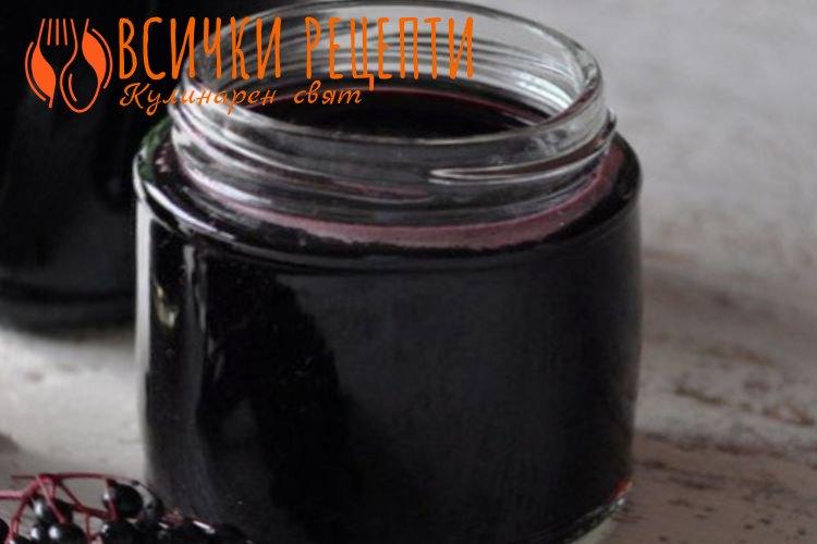 Сок от черен бъзак