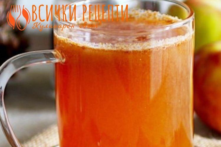 Сок от ябълки за зимата