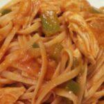 Спагети с пилешко
