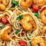 Спагети със скариди