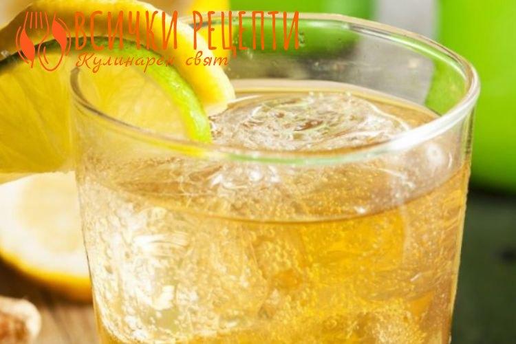 Студен чай от джинджифил