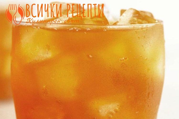 Студен чай рецепта