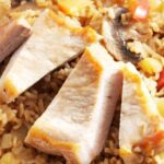 Свинско месо с ориз на фурна