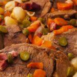 Свински език рецепта