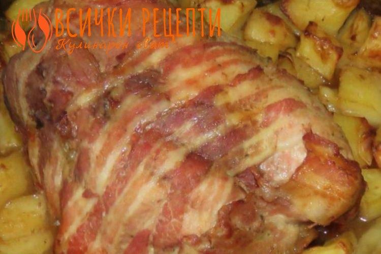 Свински врат рецепта