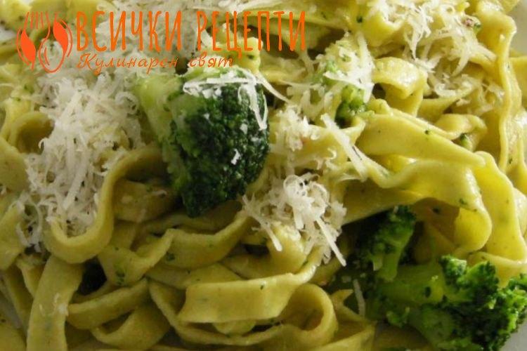 Талиатели с броколи