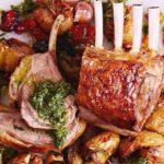 Ястие с агнешко месо