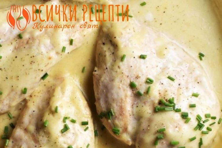 Ястие с бяло пилешко месо