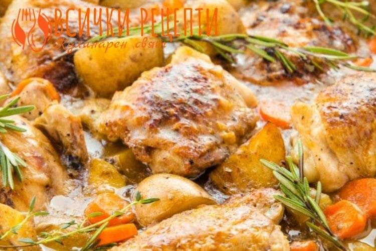 Ястие с пилешко месо