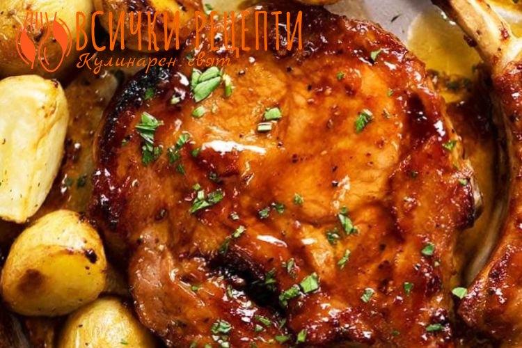 Ястие със свинско месо на фурна
