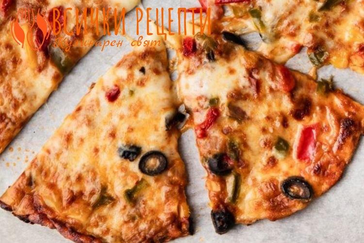 Здравословен блат за пица