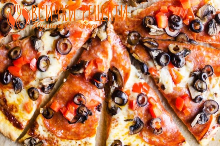Здравословна пица с лимец