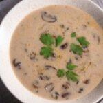 Гъбена супа от манатарки