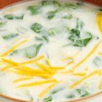 Спаначена супа със сирене